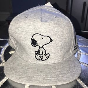 NWT H&M kids snoopy hat